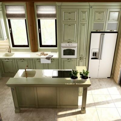 Bucătării din lemn